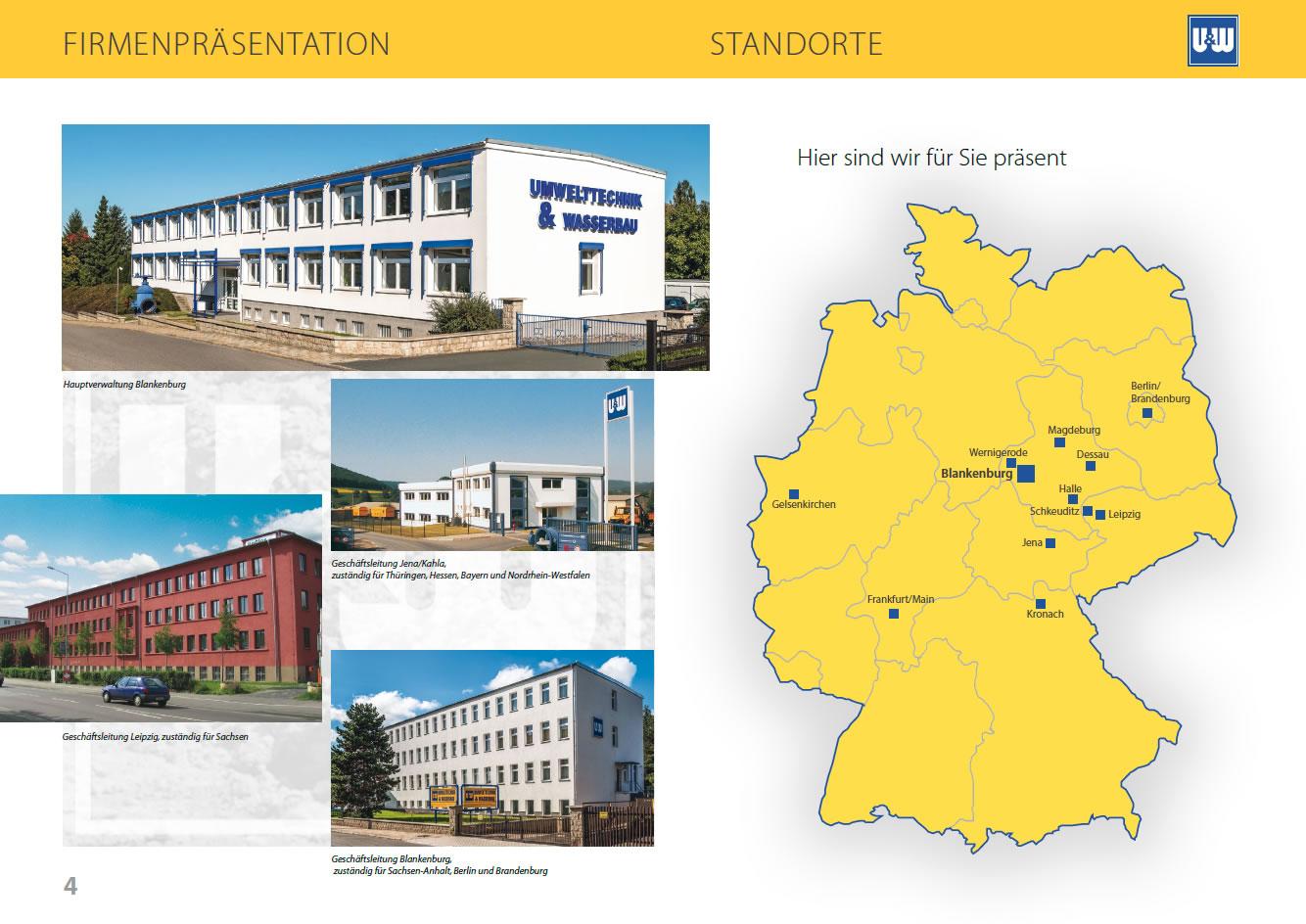 Bauunternehmen Jena broschüre umwelttechnik wasserbau gmbh